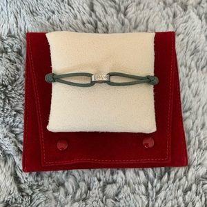 Auth. Cartier 18k White Gold Cord Bracelet✨